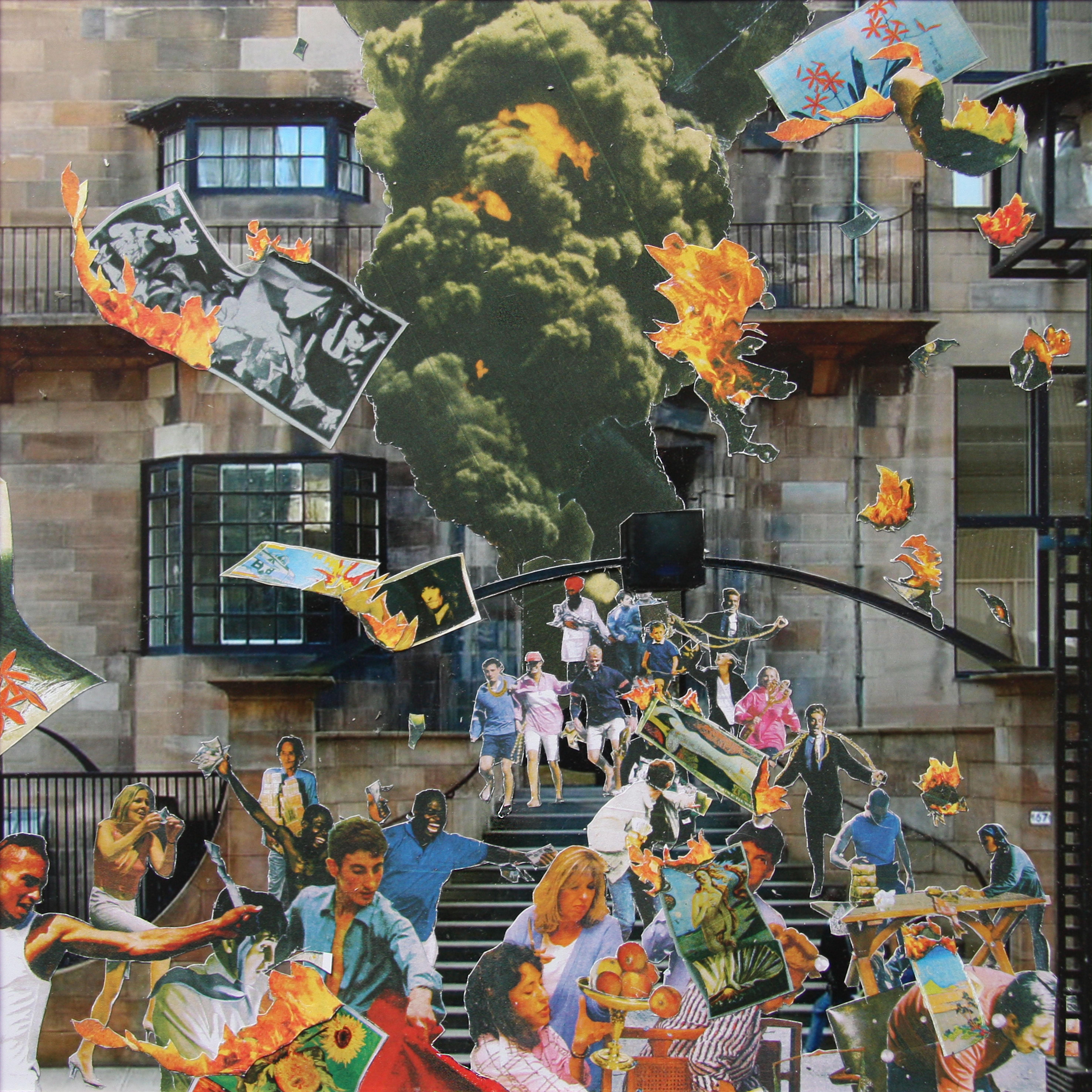 David Mach – Architecture Meets Art: Glasgow \'14